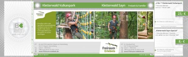 Kletterwald Vulkanpark