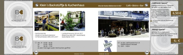 Klein´s Backstüffje & Kuchenhaus