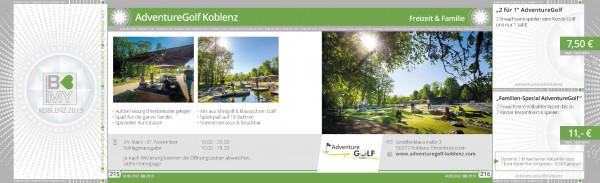 AdventureGolf Koblenz