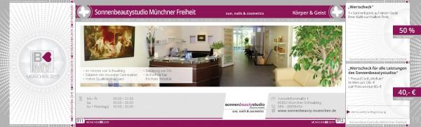 Sonnenbeautystudio Münchner Freiheit