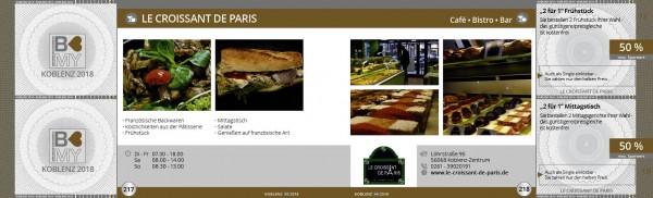LE CROISSANT DE PARIS