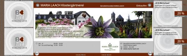 MARIA LAACH Klostergärtnerei